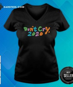 Don't Cry 2020 Coin V-neck - Design By Earstees.com