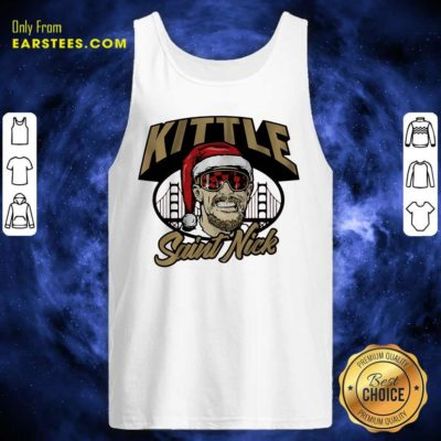 Kittle Saint Nick Tank Top - Design By Earstees.com