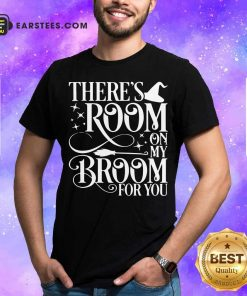 There Room On My Broom For You Witch Halloween Shirt - Design By Earstees.com