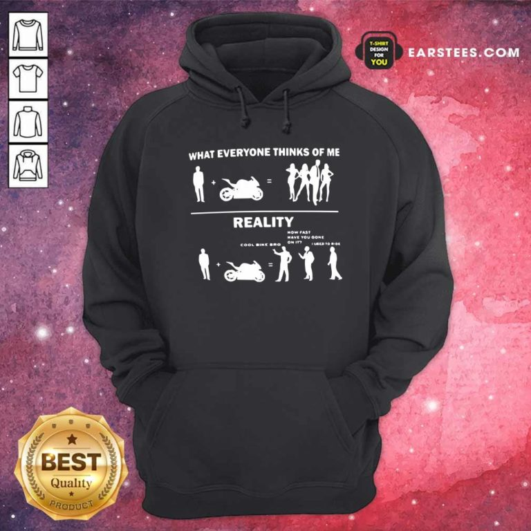 What Everyone Thinks Of Me Reality Hoodie - Design By Earstees.com