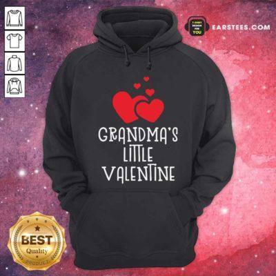 Kids Grandma's Little Valentin Hoodie - Design By Earstees.com