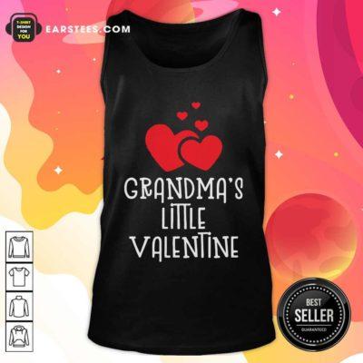 Kids Grandma's Little Valentin Tank Top - Design By Earstees.com