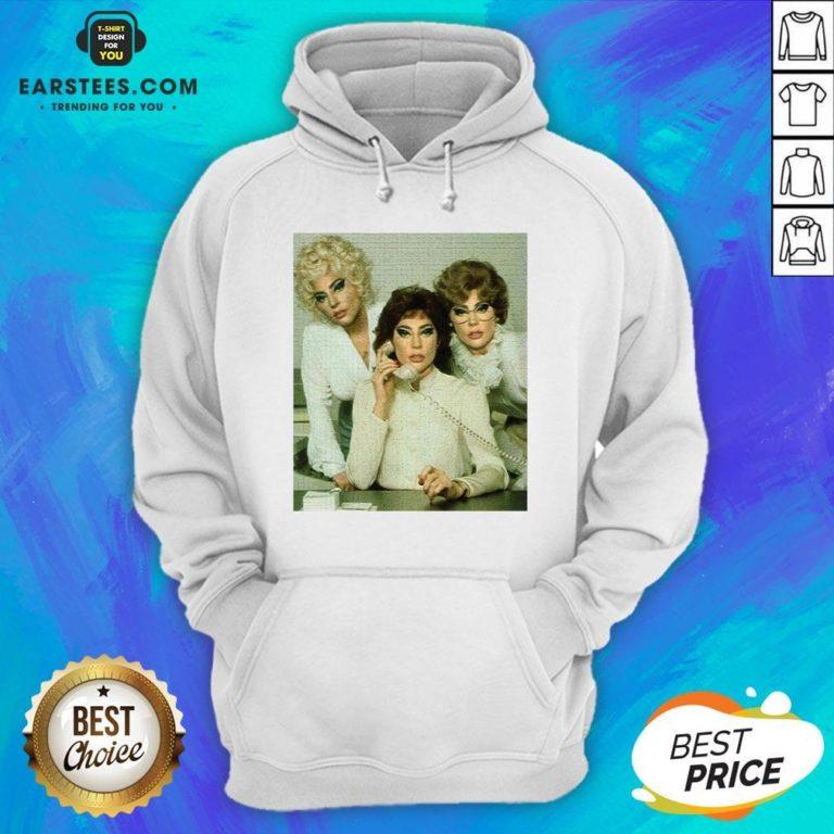 Top Lady Gaga 9 To 5 Hoodie - Design By Earstees.com