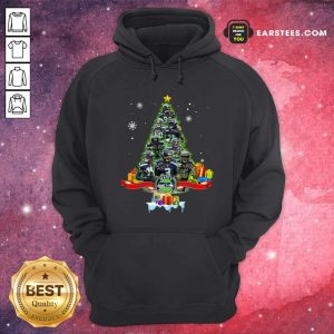 Seattle Seahawks Player Signatures Christmas Tree Hoodie - Design By Earstees.com