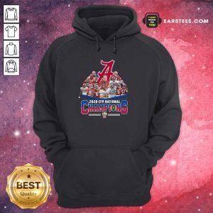 Alabama Crimson Tide Football Team Players 2020 Cfp National Champions Signatures Hoodie- Design By Earstees.com