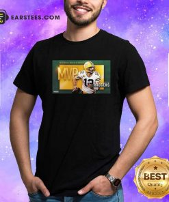 Aaron Rodgers Mvp Pro Football Writers Of America 2021 Shirt- Design By Earstees.com