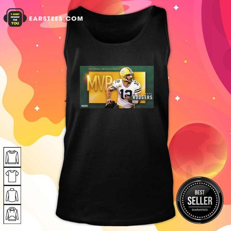 Aaron Rodgers Mvp Pro Football Writers Of America 2021 Tank Top- Design By Earstees.com