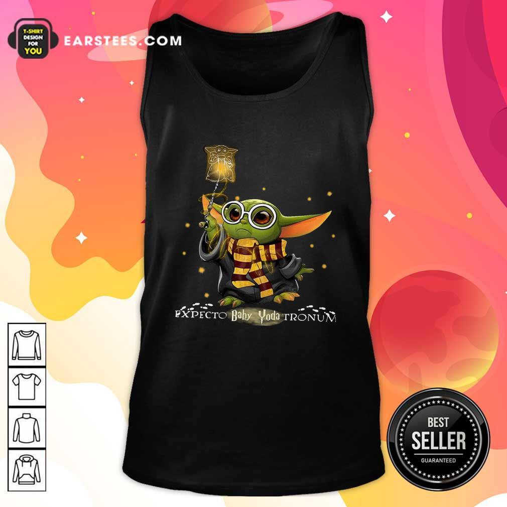Baby Yoda Expecto Baby Yoda Tronun Harry Potter Tank Top - Design By Earstees.com