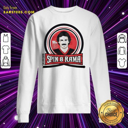 Chicago Bears Savardian Spin-O-Rama Sweatshirt- Design By Earstees.com