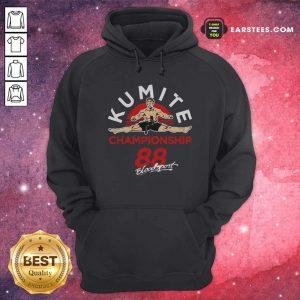 Kumite Championship 88 Bloodsport Hoodie - Design By Earstees.com