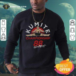 Kumite Championship 88 Bloodsport Sweatshirt - Design By Earstees.com