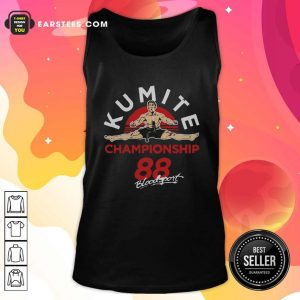 Kumite Championship 88 Bloodsport Tank Top - Design By Earstees.com