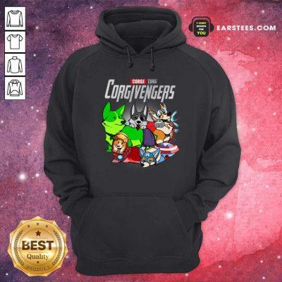 Marvel Avengers Corgi Corgivengers Hoodie- Design By Earstees.com