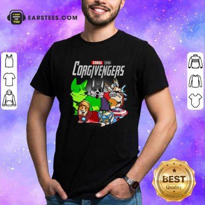 Marvel Avengers Corgi Corgivengers Shirt- Design By Earstees.com
