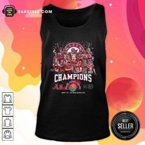Alabama Crimson Tide Football Champions Rose Bowl Game Tank Top - Design By Earstees.com