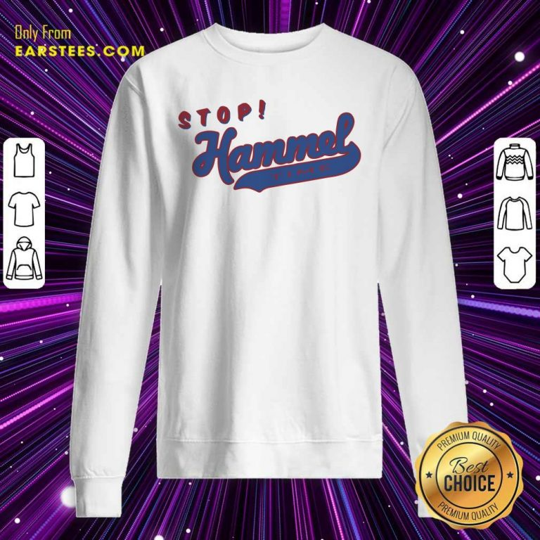 Chicago Bears Stop Hammer Time Sweatshirt- Design By Earstees.com