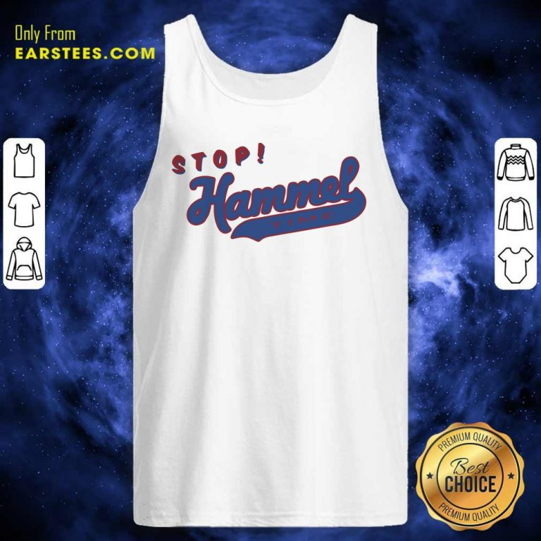 Chicago Bears Stop Hammer Time Tank Top- Design By Earstees.com
