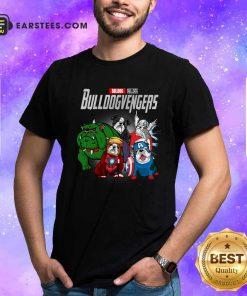 Marvel Avengers Bulldog Bullvengers Shirt- Design By Earstees.com