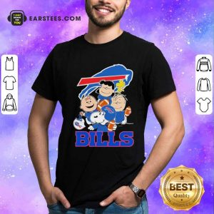 The Buffalo Bills Snoopy The Peanuts Tee Unisex Shirt- Design By Earstees.com