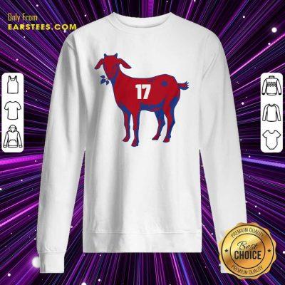 17 Goat Allen For Buffalo Bill 2021 Sweatshirt- Design By Earstees.com