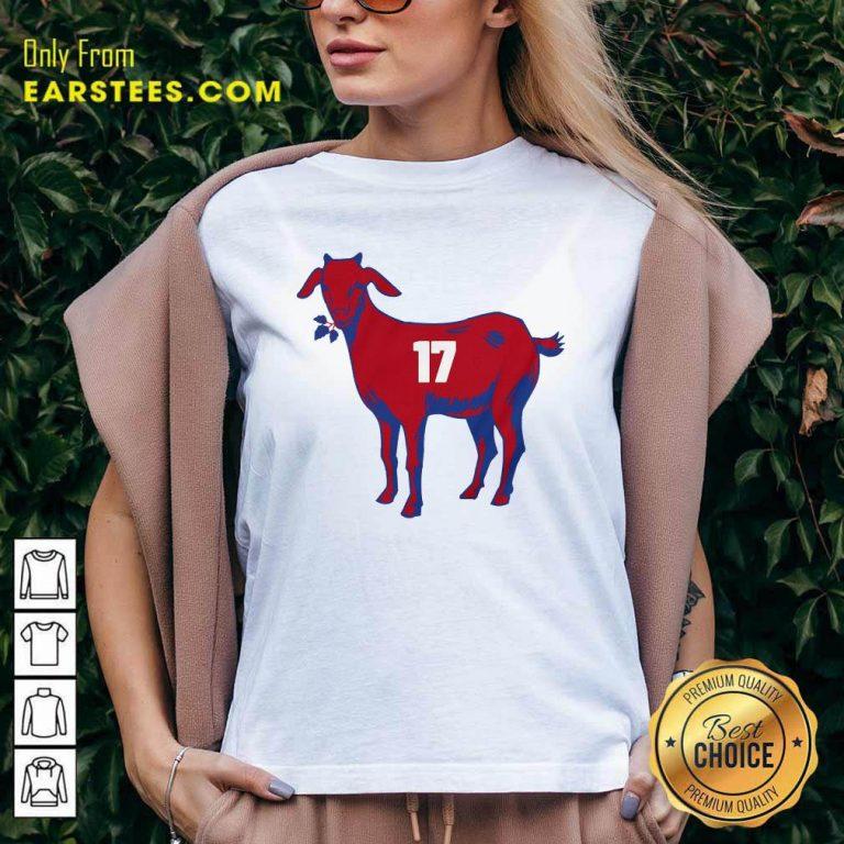 17 Goat Allen For Buffalo Bill 2021 V-neck- Design By Earstees.com