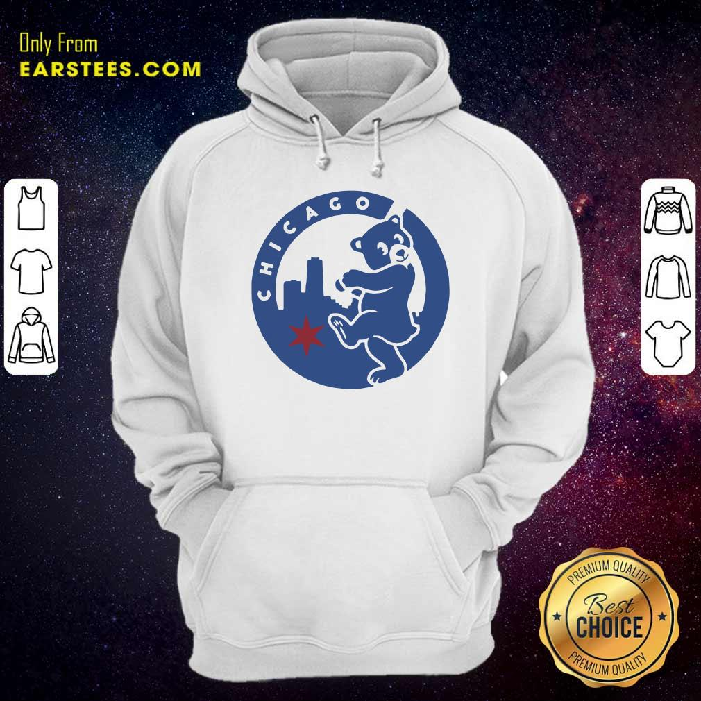 Chicago Bears Hometown Slugger Hoodie- Design By Earstees.com