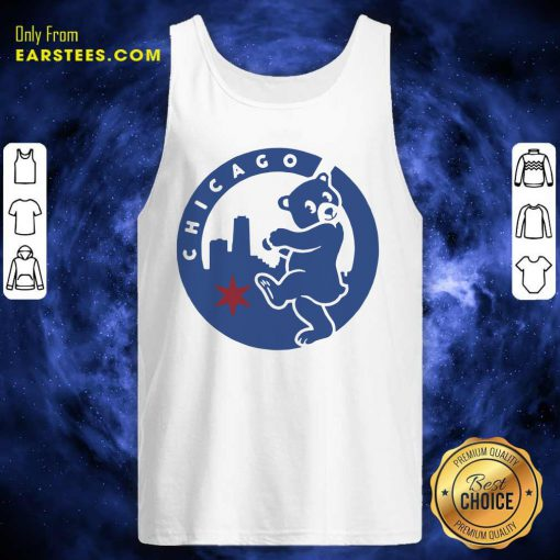 Chicago Bears Hometown Slugger Tank Top- Design By Earstees.com