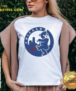 Chicago Bears Hometown Slugger V-neck- Design By Earstees.com