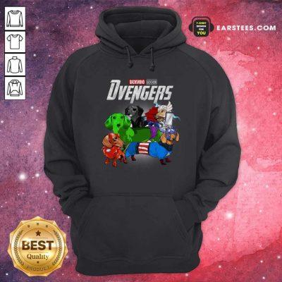 Dachshund Marvel Avengers Dvengers Hoodie- Design By Earstees.com