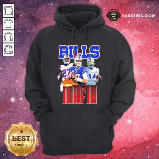 Digg Allen And Tredavious White Buffalo Bills Mafia 2021 Hoodie- Design By Earstees.com