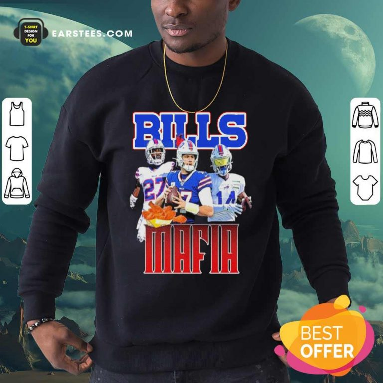 Digg Allen And Tredavious White Buffalo Bills Mafia 2021 Sweatshirt- Design By Earstees.com