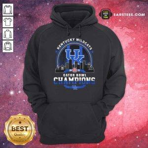 Kentucky Wildcats Gator Bowl Champion Hoodie- Design By Earstees.com