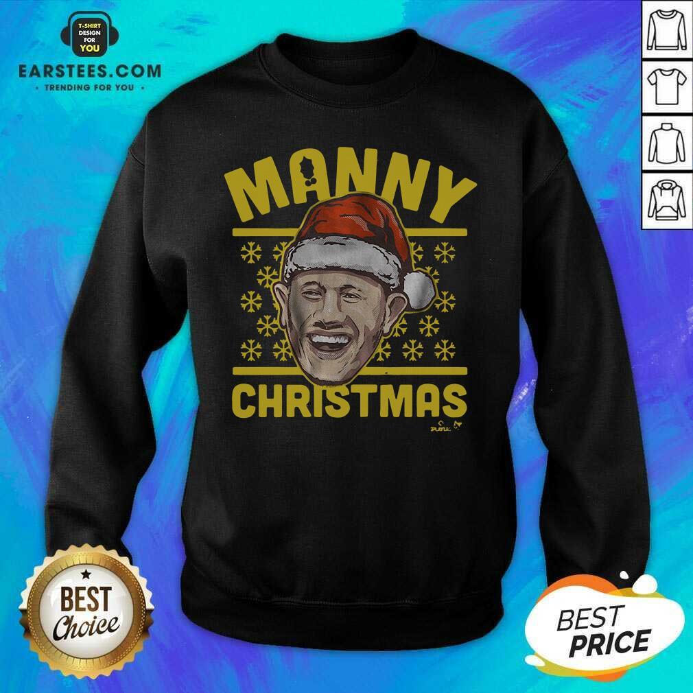Good Manny Christmas San Diego Sweatshirt  - Design By Earstees.com