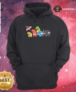 Pet Dinosaurs Power Ranger 2021 Hoodie- Design By Earstees.com