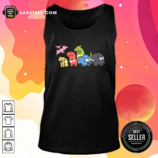 Pet Dinosaurs Power Ranger 2021 Tank Top- Design By Earstees.com