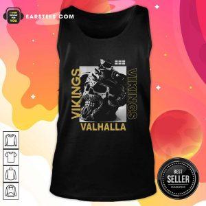 Vikings Yule Valhalla Tank Top - Design By Earstees.com