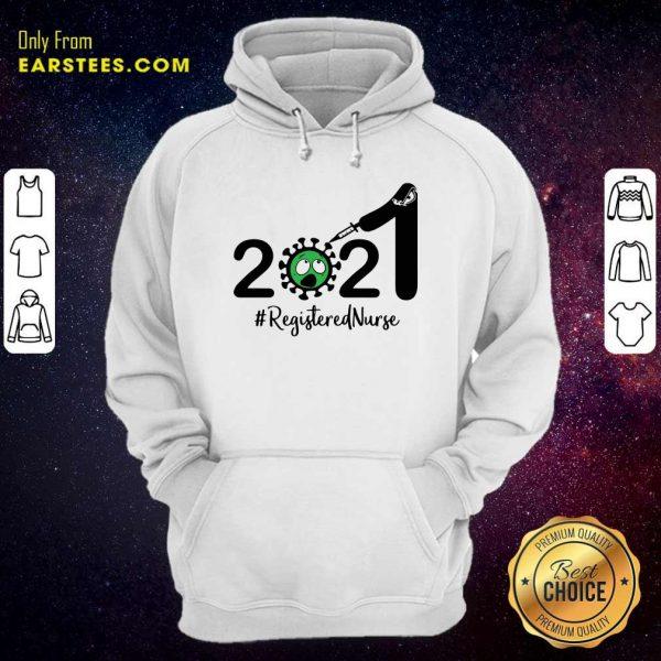 2021 Coronavirus #Registered Nurse Hoodie - Design By Earstees.com