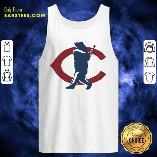 Chicago Bears North Side Home Run Tank Top- Design By Earstees.com