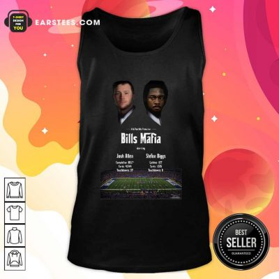 Josh Allen Vs Stefon Diggs In A Buffalo Bills Production Bills Mafia 2021 Tank Top- Design By Earstees.com