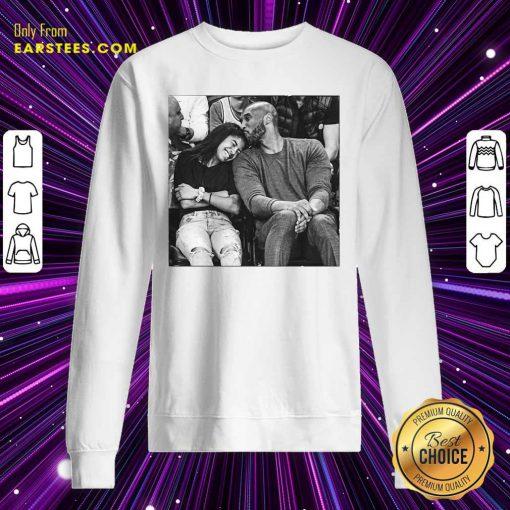 Kobe Bryant And Gigi Sweatshirt- Design By Earstees.com