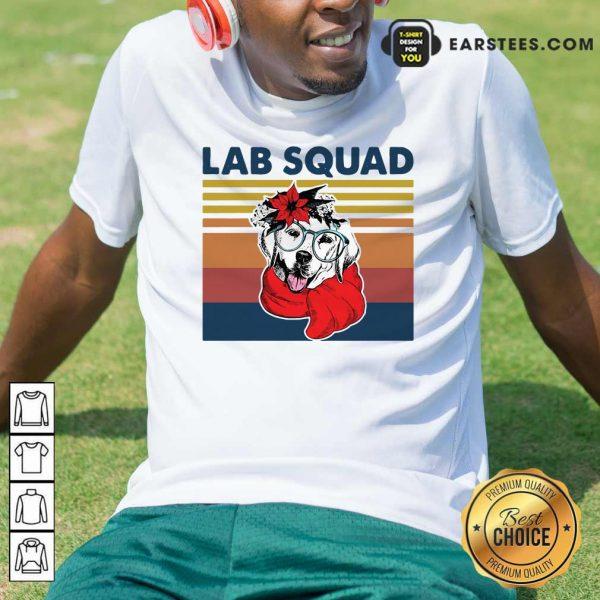 Labrador Lab Squad Duck Hunting Vintage Shirt - Design By Earstees.com