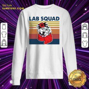 Labrador Lab Squad Duck Hunting Vintage Sweatshirt - Design By Earstees.com