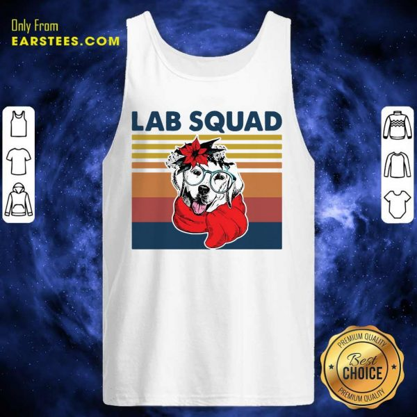 Labrador Lab Squad Duck Hunting Vintage Tank Top - Design By Earstees.com