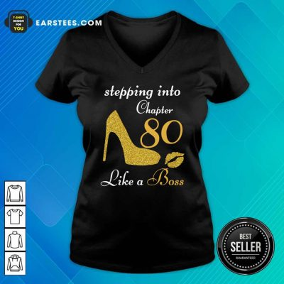 Stepping Into Chapter 80 Like A Boss V-neck- Design By Earstees.com