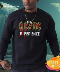 The Ac Dc Experience 2021 Sweatshirt- Design By Earstees.com