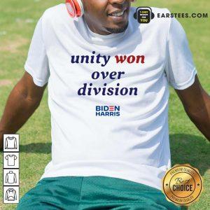 Unity Won Over Division Biden Harris Hoodie- Design By Earstees.com