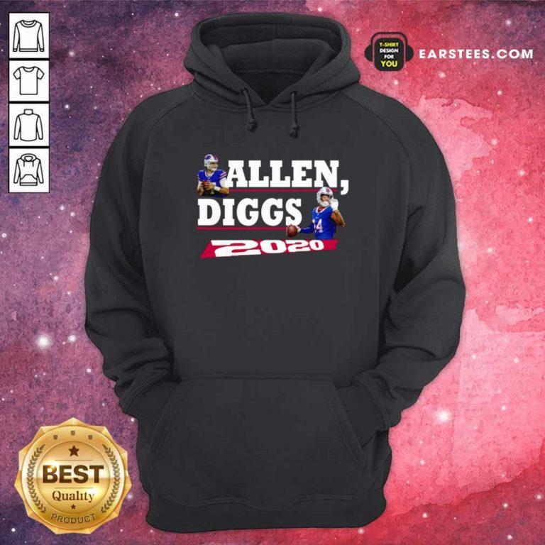 Allen Diggs 2020 Buffalo Hoodie- Design By Earstees.com