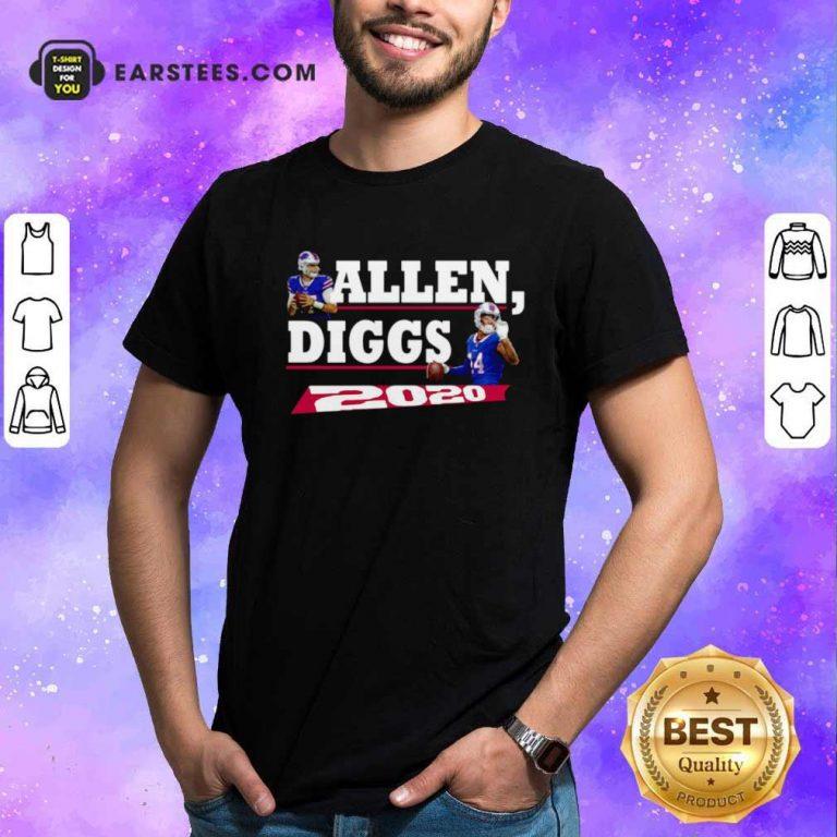 Allen Diggs 2020 Buffalo Shirt- Design By Earstees.com