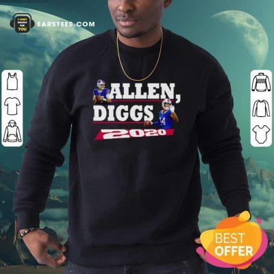 Allen Diggs 2020 Buffalo Sweatshirt- Design By Earstees.com