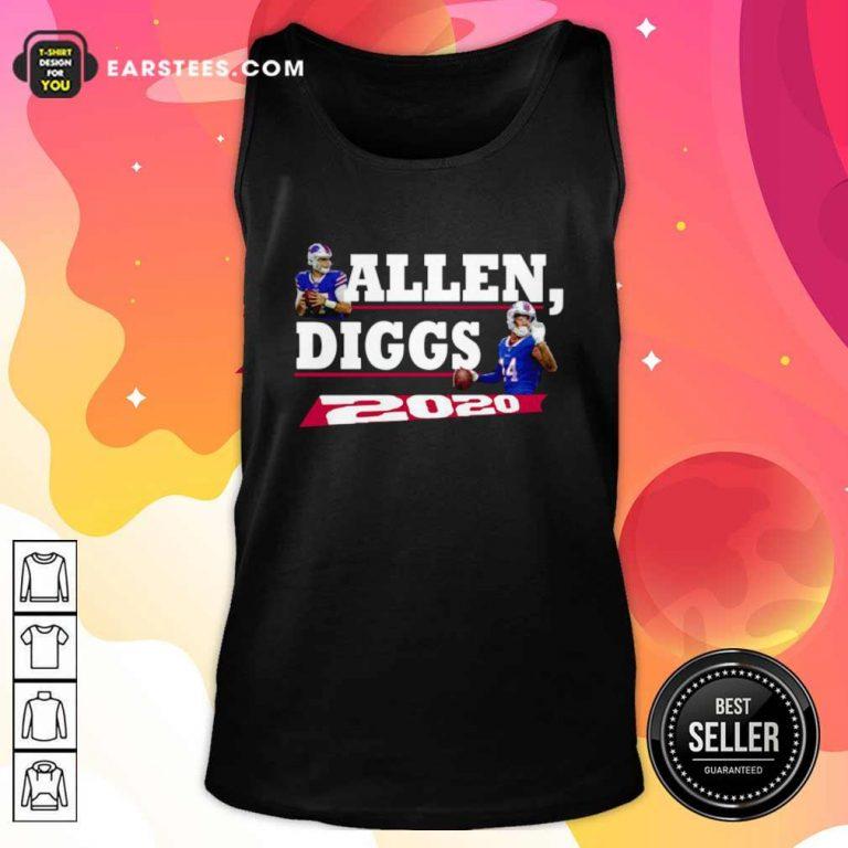 Allen Diggs 2020 Buffalo Tank Top- Design By Earstees.com